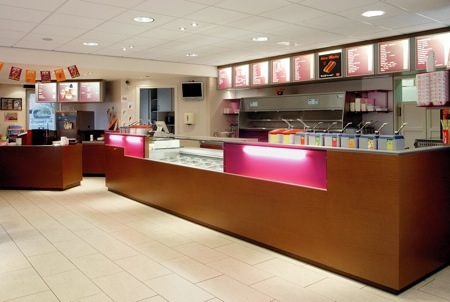 Counter cafetaria de Hoenrik