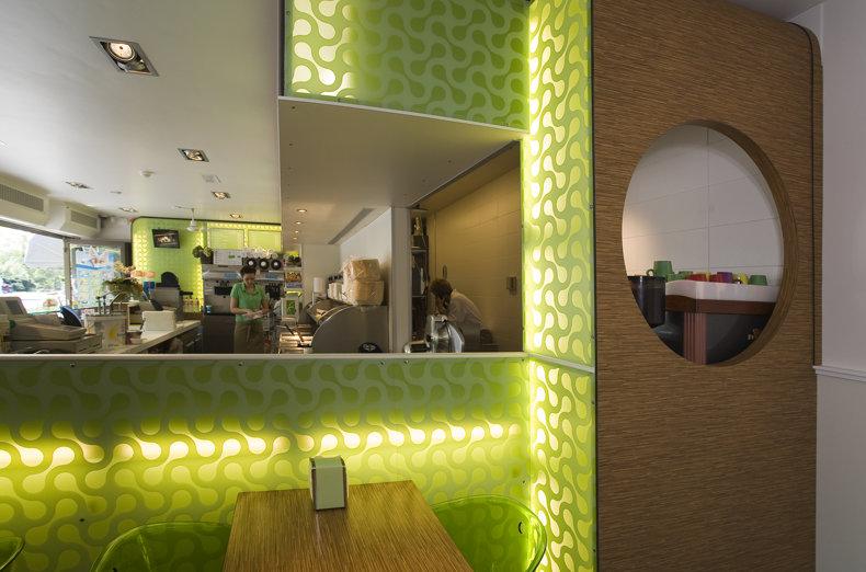 Cafetaria ontwerp in retro stijl   Herman de Jong ...