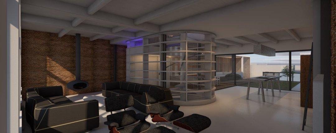 Verbouwing woonhuis, loft