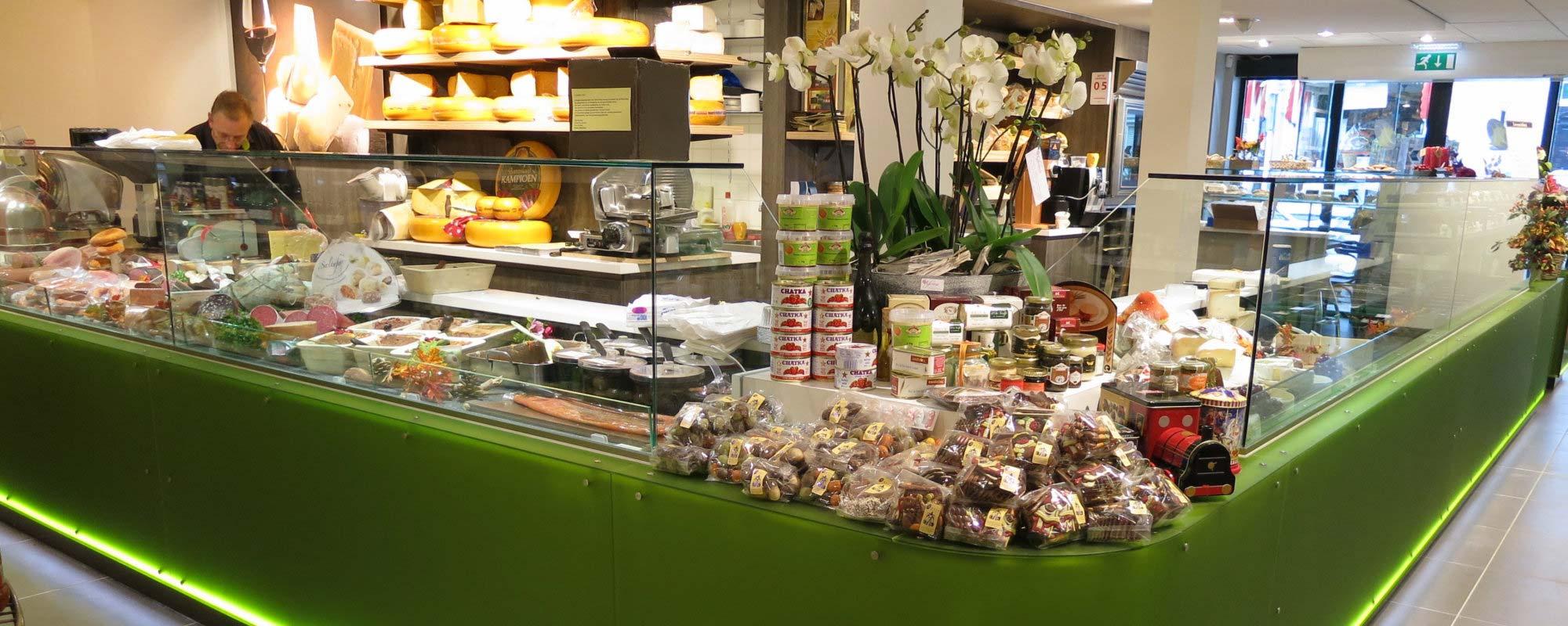 Restylen supermarkt en delicatessenwinkel