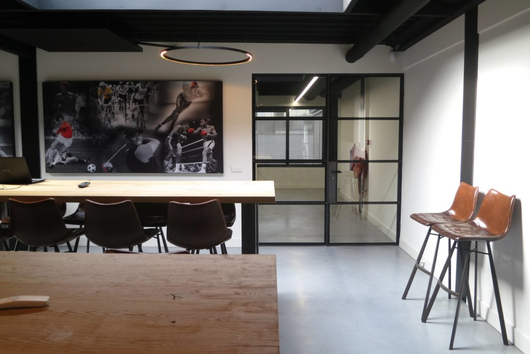 Interieur bedrijfspand na renovatie
