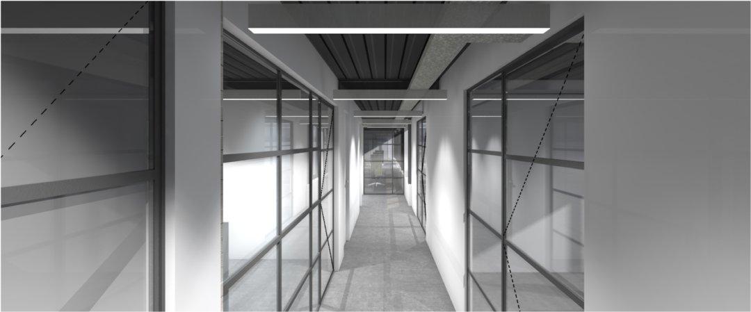 Ontwerp interieur (3D render)